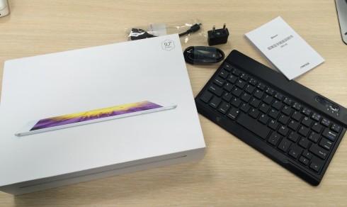 Caja y teclado