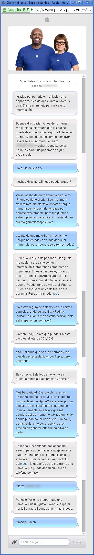 Apple (cegado)